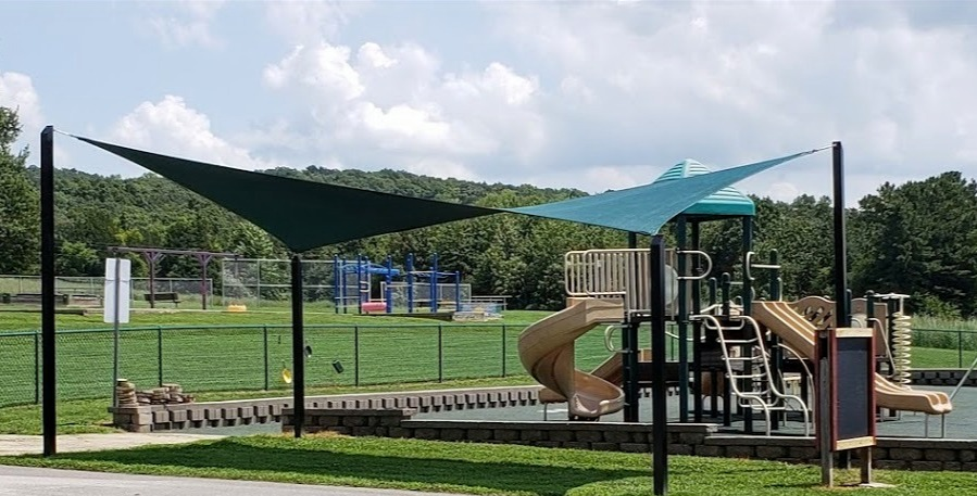 Bloomsdale ES playground shade