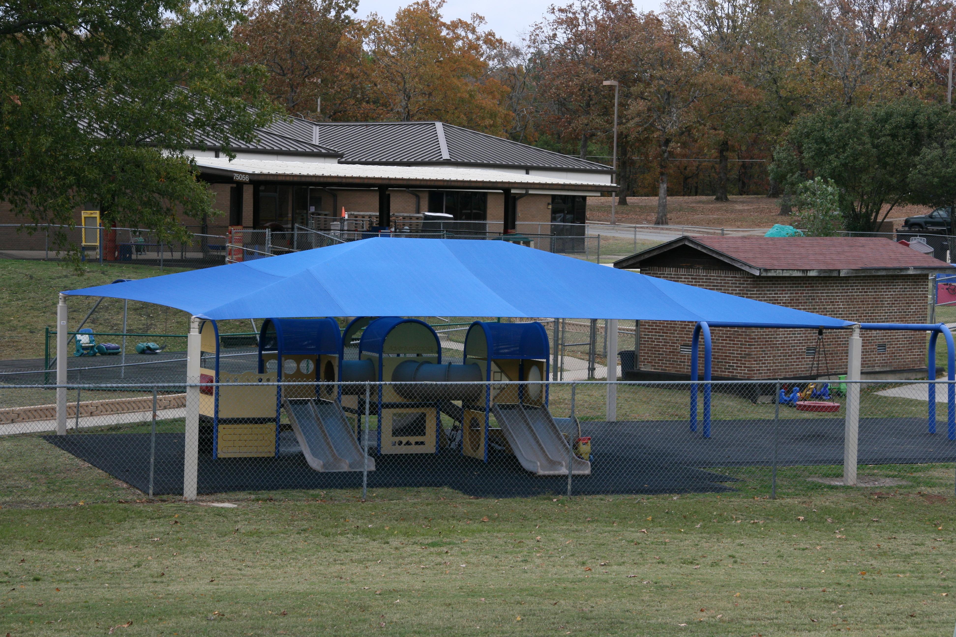 Little Rock AF Base Shade Structure