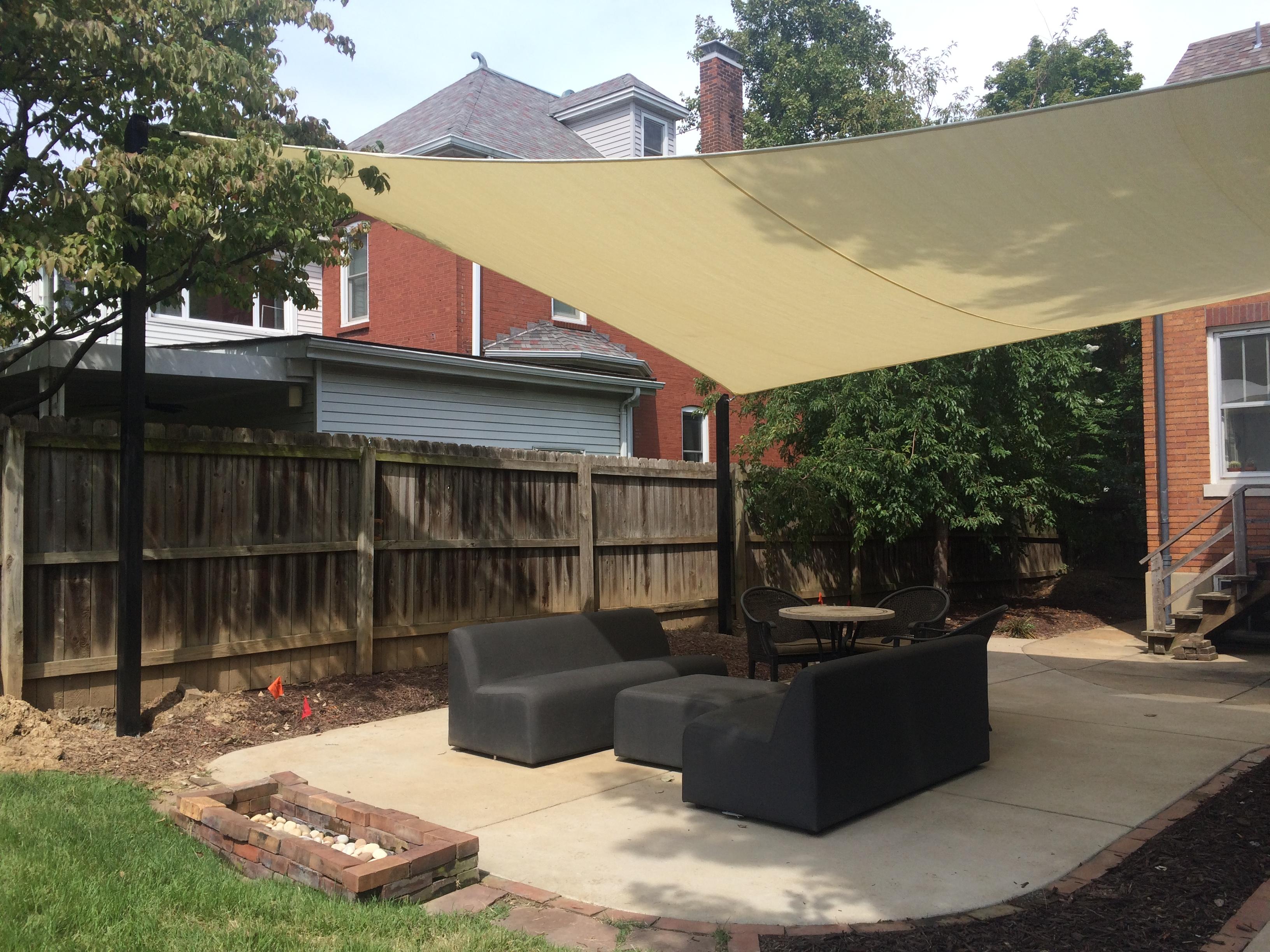 Shade-Guard residential shade sail