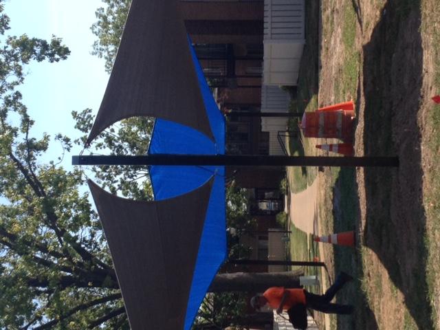 St. Louis University shade sails