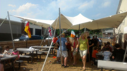 Civil Life Brewery Tent