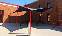 Pond ES perfect shaded picnic area