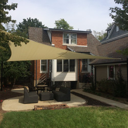 Shade-Guard residential shade sail