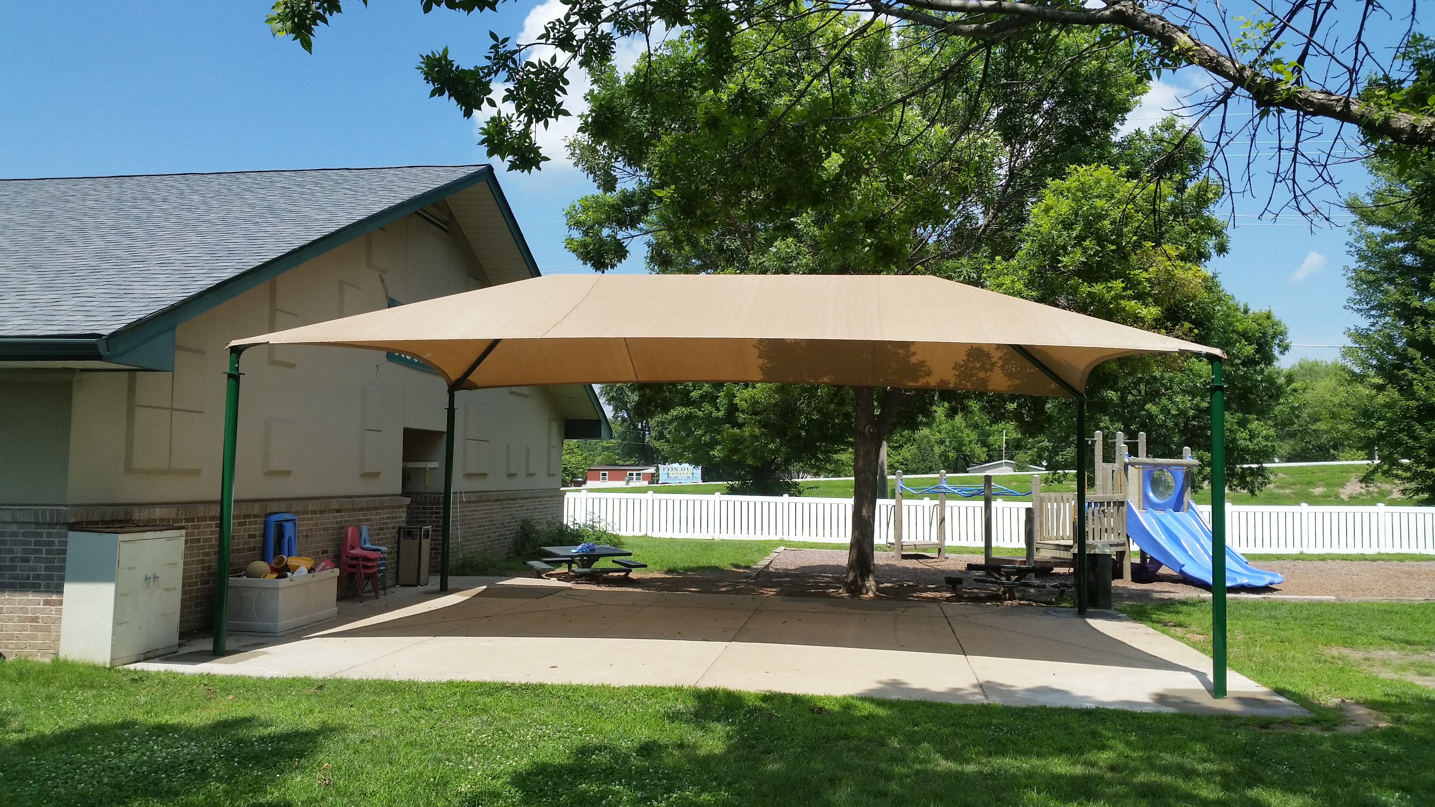 Elm Point ECE Shade Structure