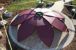 Shade-Guard shade flower assembling