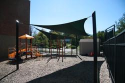 Marquette HS shade sails