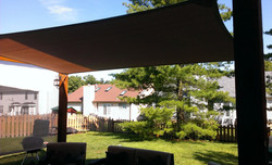 Shade-Guard residential shade canopy, Ballwin
