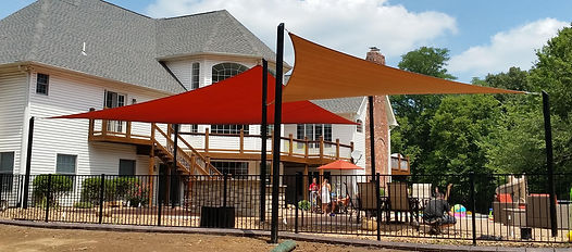 Residential Shade Sails