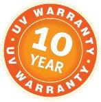 Comtex and Polytex shade fabric 10 year warranty