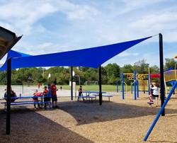 Babler ES picnic area shade sail