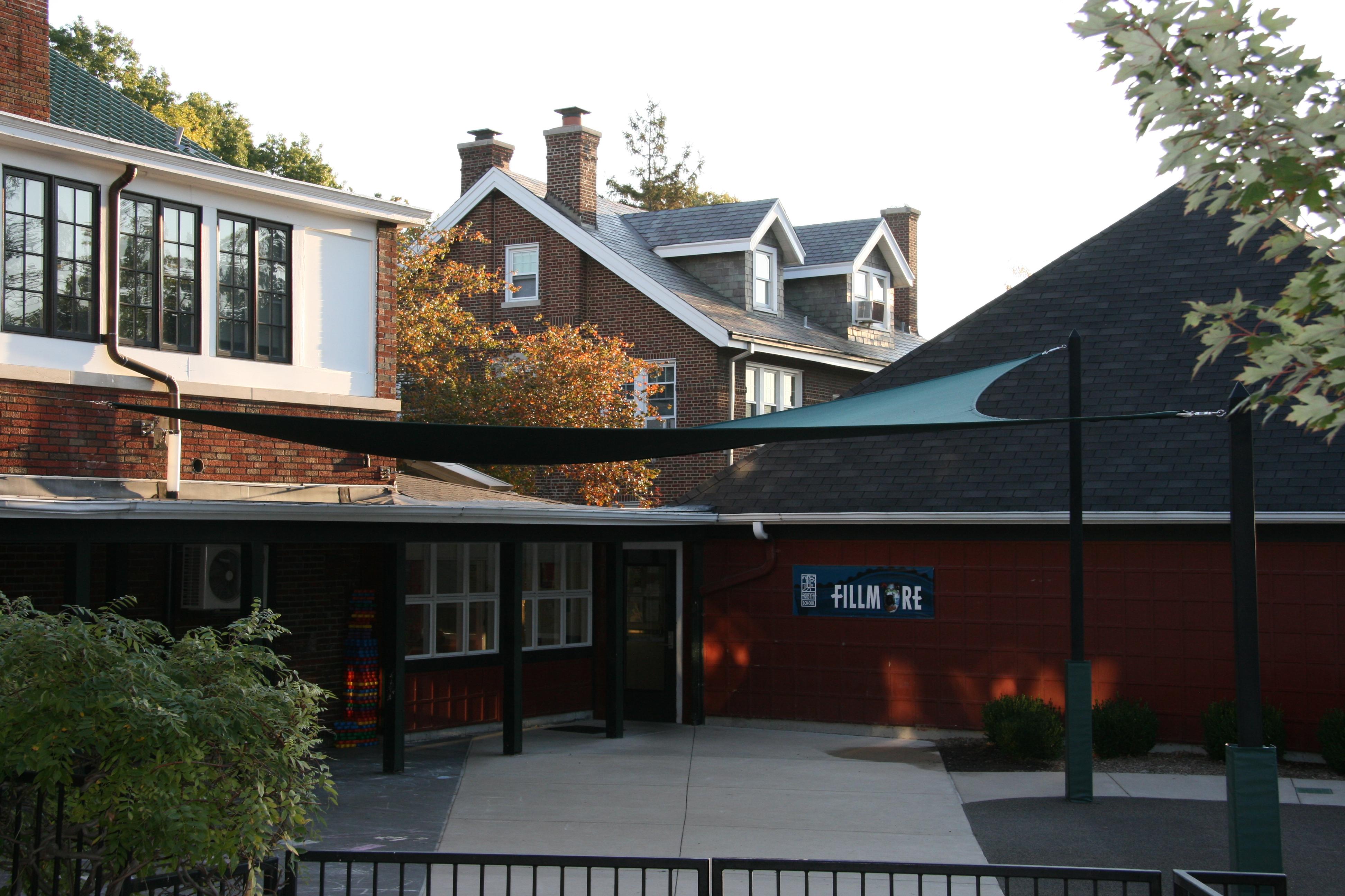 Forsyth School shade sails