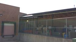Brentwood Trader Joe's awning