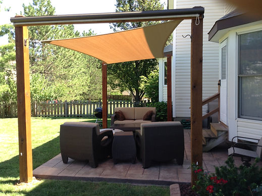Residential Shade Canopy
