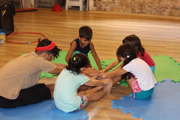Aulas de circo para criança