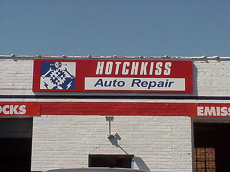 Aluminum Store Front Sign from TNT SIGNS!