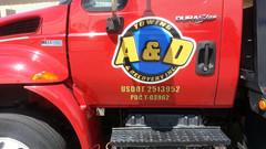 Tow Truck Door Decal