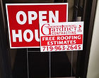 Corrugated signs, bandit signs, yard signs made by TNTSIGNS!