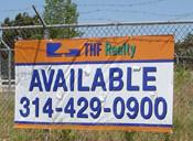 Fence Banner for Real Estate!