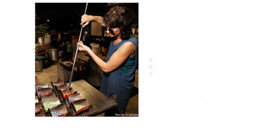 Experience Glassmaking!