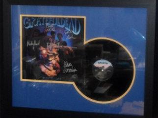 Grateful Dead Autographed Record