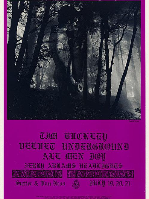 Velvet Underground, Tim Buckley, All Men Joy: Avalon Ballroom