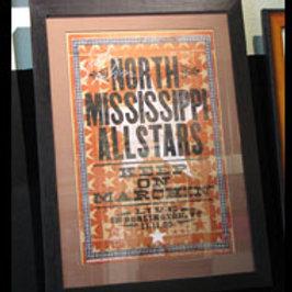 North Mississippi Allstars: Concert Poster