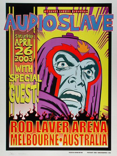 Audioslave: Rod Laver Arena 2003