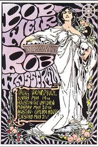 Bob Weir and Rob Wasserman Tour Poster