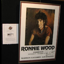 Ron Wood: Signed Exhibit Announcement