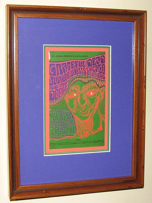 Grateful Dead Original Postcard