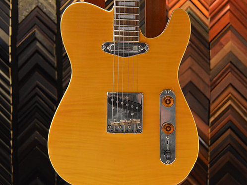 Flame Maple T Style Guitar
