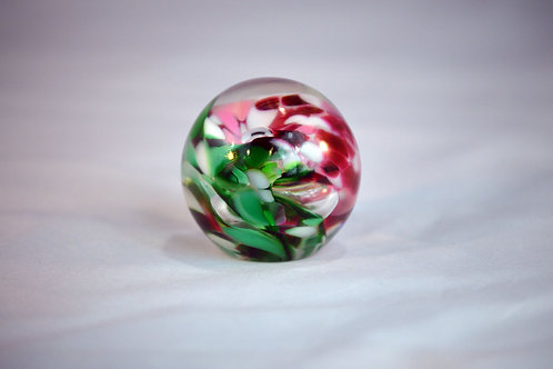 Red and Green Paper Weight