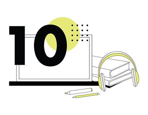 Bono de 10 Sesiones Online