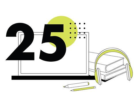Bono de 25 Sesiones Online
