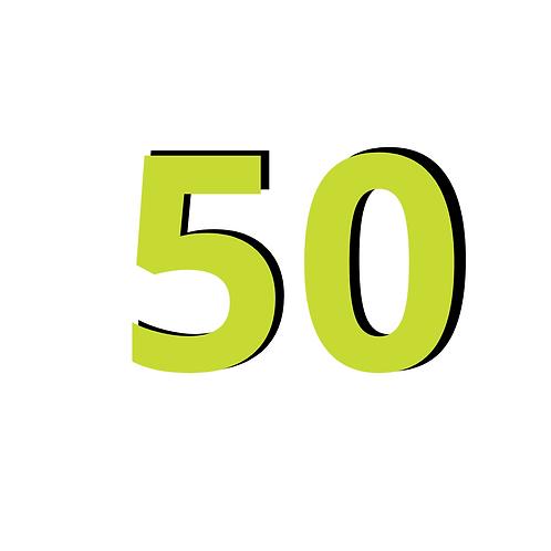 Bono de 50 Sesiones Online