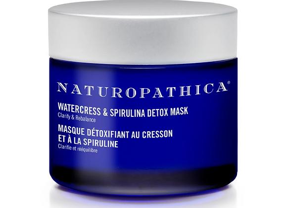 Watercress and Spirulina Detox Mask