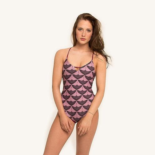 Ikal One Piece Reversible Swimwear