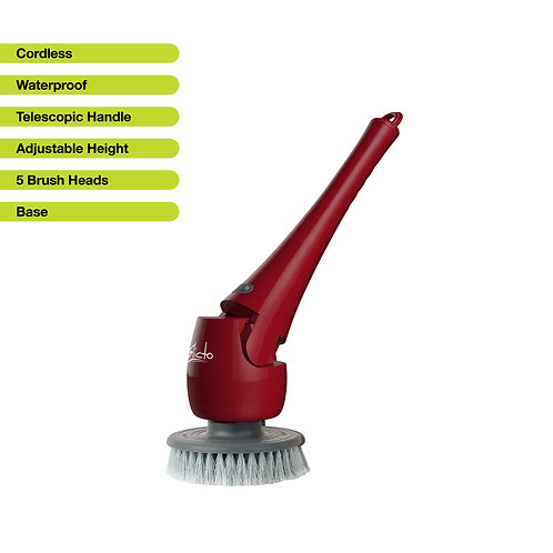 Elicto ES-100 Waterproof Telescopic Power Scrubber