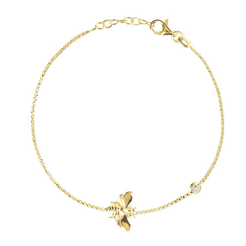 Queen Bee Bracelet Gold