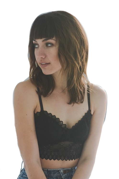 Black Sexy Lace Crop Top Bralette