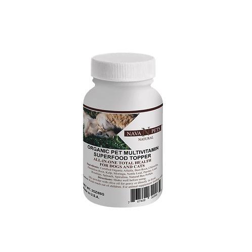 Organic Pet Vitamin SuperFood Topper