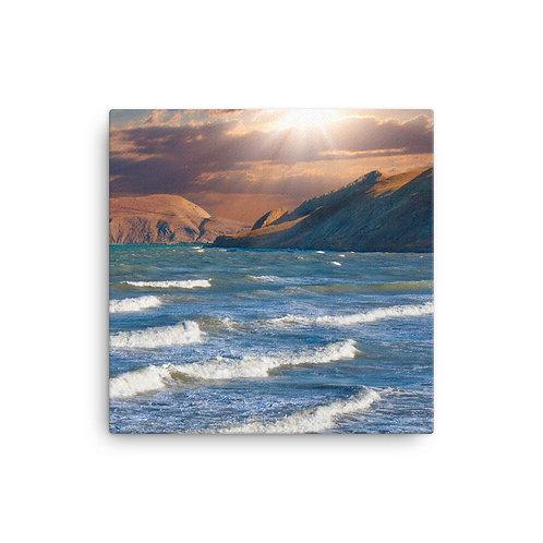 Lit Bay - Canvas