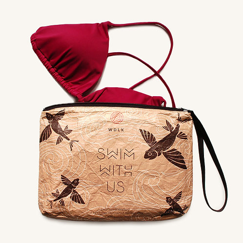 Flying Fish Bikini Pouch