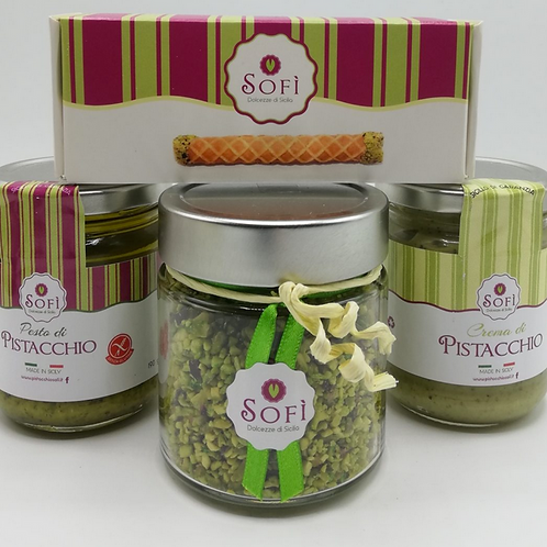 The Bronte's Pistachio Gift Pack from Sicily