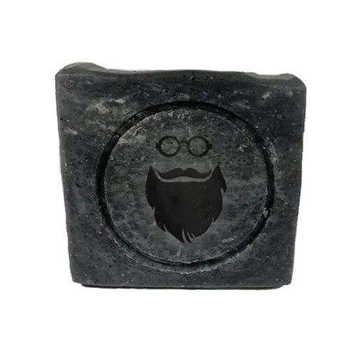 Charcoal Mint Beard Shampoo Bar - 100% Natural – Cleanse & Nourish 100g