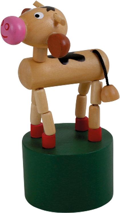 Steh-auf-Tierchen - Kuh