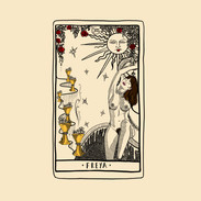 Freya Evans - Custom Tarot Card