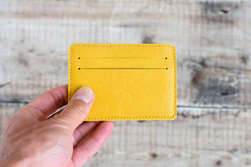 Yellow Cardholder