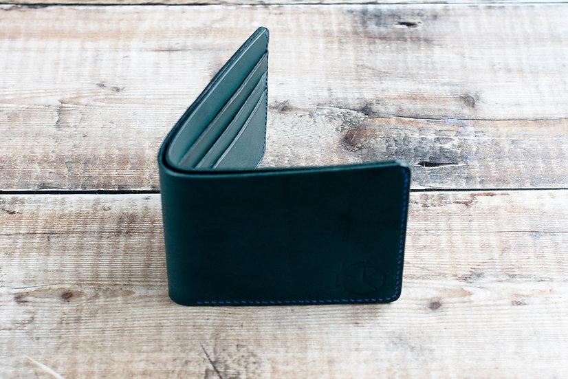 Petrol blue wallet
