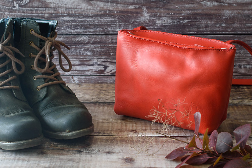 Red Kingston Bag